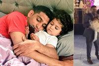 Narozeninová oslava za 3,5 mega: Boxer Amir Khan se rozšoupnul kvůli dceři (2)