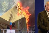 """""""V Bruselu mleli o kvótách, uprchlíci pálili stany."""" EU to schytala od Sobotky"""