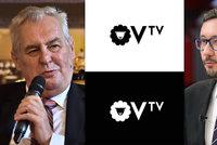 Ovčáček chystá vlastní televizní kanál. Zeman bude hvězdou jeho OVTV