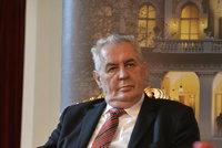 Zeman o reformě policie: Zklidněte hru, předčasné volby nebudou