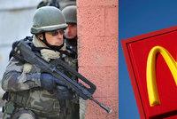 Lupiči přepadli McDonald's, nevšimli si v něm 11 elitních vojáků