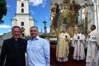 Kardinál Duka sloužil u kancléře Mynáře mši za ďáblovo číslo 666