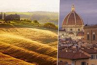 Podmanivé Toskánsko: Jeden z nejhezčích koutů Itálie! Kam se tu vydat?
