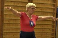 Je mi 82 a už 63 let učím tělocvik, říká Sylva Knedlová z Fryštáku