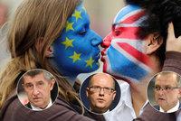 Opustí Britové EU? Jak brexit tipuje Sobotka, Babiš, Kalousek a další lídři