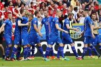 Island - Rakousko 2:1. Nováček slaví postup ze skupiny, vyzve Anglii
