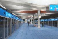 Modré metro D má zelenou. První stanice vzniknou mezi Pankrácem a Novými dvory