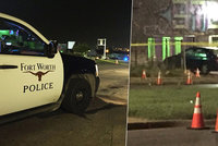 Střelba před tanečním studiem v Texasu: Dva lidé zemřeli