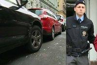Opilý řidič naboural na pražském Smíchově 11 aut, měl téměř dvě promile