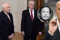 Horáček: Havel chyboval, ale přečkal peklo. Klausova amnestie je děs. A Zeman?