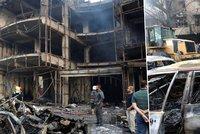 Nejkrvavější útoky posledních let: Výbuchy v Bagdádu zabily přes 120 lidí