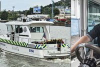 Loď městské policie »zblízka«: Exkluzivní 360 stupňové fotografie z paluby