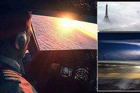 Práce s nejlepším výhledem na světě: Podívejte se, jaké krásy vidí piloti z kokpitu!