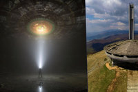 Přistálo snad v Bulharsku UFO? Chátrající komunistický monument připomíná mimozemskou loď