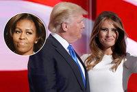 """Trumpa vychválila """"první dáma"""". Opsala projev od Obamové?"""