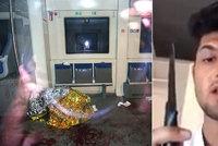 Afghánec (†17) před útokem ve vlaku vyhrožoval: Zmasakruju vás nožem a sekerou