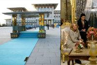 Turecká první dáma je pokrytecká snobka! Mluví o skromnosti, ale libuje si v přepychu