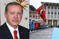 """Přepych """"sultána"""" Erdogana: Prezident-diktátor má palác za 40 miliard!"""