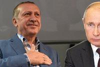 """Nové spojenectví? Erdogan se jede """"usmířit"""" do Ruska"""