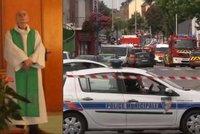 Ozbrojenci z ISIS zajali rukojmí v kostele v Normandii, knězi podřízli krk