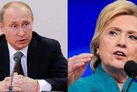 """""""Zneužíváte Rusko"""". Kreml odmítl, že je za únikem konspirace u Clintonové"""