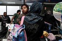 Cesta do Německa nás stála majlant, ale dostaneme dávky, píše uprchlice Blesku