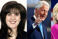 Clinton básnil o lásce. Usedne Hillary tam, kde měl se stážistkou orální sex?