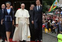 Papež dorazil do Polska: Davy jásají, tisíce policistů a vojáků hlídají
