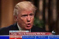 Trump: USA by měly uznat anexi Krymu, zlepší to vztahy s Ruskem