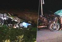 Manželé zahynuli při nehodě u Horažďovic: Zůstali po nich čtyři sirotci
