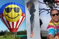 Pilota českého balónu smrti chytli čtyřikrát opilého za volantem: Byl ve vězení, o licenci ale nepřišel