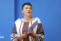 Savčenková drží protestní hladovku. Lavrov: Je vypasená, takže tomu každý rozumí