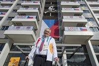 """""""Už jste vyhráli,"""" řekl Zeman olympionikům. Promluví i s Hollandem"""