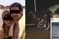 Po nehodě zůstali čtyři sirotci: Řídil auto smrti Lukáš? Zběsilou jízdou se chlubil