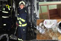 Rodině na sídlišti vyhořel celý byt. Sousedé se semkli a darují jim nádobí, stůl i peníze