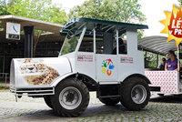 V Zoo Praha si s vámi popovídají ve vláčku. Vypráví i příběhy slůněte Maxe