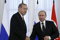 Rusko a Turecko podepsaly vybudování plynovodu TurkStream. Padne i embargo