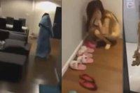 Žena načapala nevěrného manžela při činu: Nahou milenku vyhodila z bytu