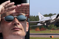 Rusko rozmístilo strategické bombardéry v Íránu. Útočí na povstalce v Sýrii