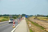 Na rozestavěné části dálnice D3 na Táborsku se projedete znovu bez známky