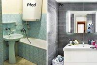 Proměna staré koupelny: Jak efektivně využít místo?
