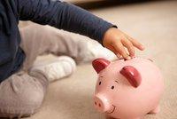 """Aby z potomka nebyl finanční """"negramot"""": Pořiďte dětem odmala pokladničku"""