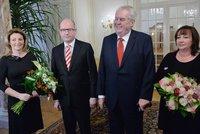 Zeman a Sobotka zasednou k novoročnímu obědu. Řešit budou volby
