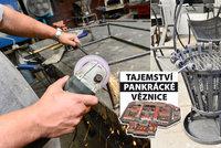Ruční práce vězňů z Pankráce: Na zakázku vyrobí gril, lavičku i ozdobnou mříž