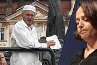 Konvičku měli v centru Prahy zakázat, tvrdí Krnáčová. Úředník podle ní selhal