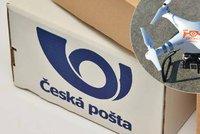 """Česká pošta chce svou """"balíkoptéru"""". Rozvážku pomocí dronů brzdí zákony"""