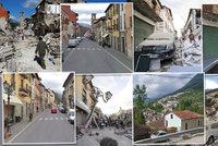 Smrtící zemětřesení v Itálii: Z tisíců lidí, kteří přežili, jsou bezdomovci