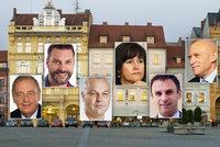 Vysíláme živě z Budějovic: Kandidáti na hejtmana o Temelínu, Kovosvitu a dopravě