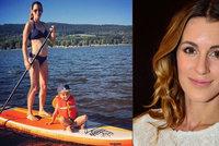 Těhotná modelka Křížková: Ve třetím měsíci potratila!