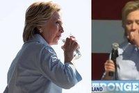 Má Clintonová podlomené zdraví? Dusila se přímo před kamerami